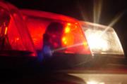 Bombeiros atendem vítimas de colisão entre motocicleta e caminhão