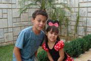 O aniversário de Thiago Rodrigues Carneiro e Rafaela Rodrigues Carneiro