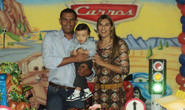 As comemorações de um ano de Luiz Gustavo