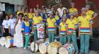 Tambores Africanos se apresenta para mais de 700 pessoas em São Paulo