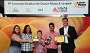 Queijo Minas Artesanal da região da Canastra é escolhido o melhor do Estado