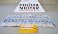Polícia militar prende autor de roubo a armarinho