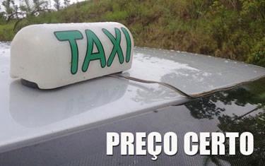 Inmetro realiza aferição nos taxímetros em Araxá