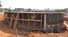 Teatro Municipal: Começa a construção do espelho d'água