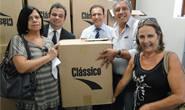 Tênis apreendidos são doados para entidades de Araxá e região