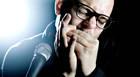 Músico dinamarquês faz show de blues em Araxá