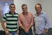 Vice-presidente da Codemig, Antônio Leonardo visita a Câmara Municipal