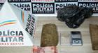 Homem é preso com 800 gramas de maconha