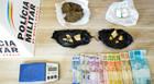 Homem é preso com drogas na Praça do Goiano