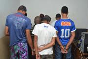 Oito indivíduos são detidos por tráfico na quadra do Ana Pinto de Almeida