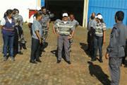 Agentes e vigilantes da Sec. Municipal de Segurança passam por treinamento