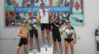 Primeiro triathlon de revezamento é realizado em Araxá