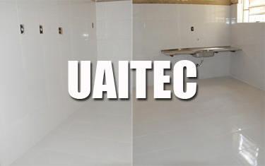 Reforma do prédio para a Uaitec conclui mais uma fase