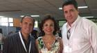 Reitor e coordenador de cursos do Uniaraxá participam de congresso em Portugal