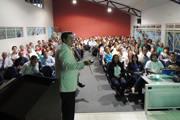 Reunião inicia o ano letivo do Uniaraxá