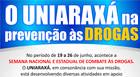 Uniaraxá recebe debate sobre prevenção às drogas nesta quarta