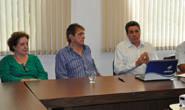 Aracely visita Uniaraxá e destaca ações da instituição