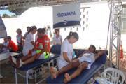 Uniaraxá participa das atividades da 13ª Minimaratona do Trabalhador