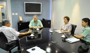 Jeová e Alda Sandra visitam gerente da Vale Fertilizantes