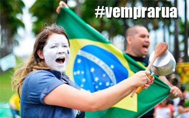 Araxaenses saem às ruas pra manifestação nesta sexta-feira
