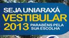 Uniaraxá inicia processo seletivo para 2013