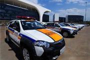 Alto Paranaíba recebe 32 veículos para a segurança pública