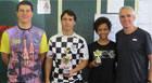Marco Antônio e Amanda Beatriz são os campeões araxaense de Xadrez 2014