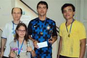 Marco Antônio é campeão no torneio de xadrez em Sacramento