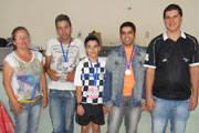 Vitor Amorim é campeão da 5ª Etapa do Circuito Araxaense de Xadrez