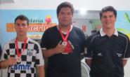Marco Antonio é campeão da 2ª Etapa do Circuito Araxaense de Xadrez