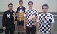 Academia Araxaense de Xadrez conquista quatro ouros em São Gotardo