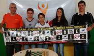Estudantes araxaenses garantem duas vagas na Etapa Estadual de Xadrez do Jemg