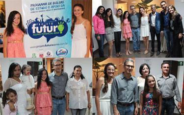 """Zema apresenta alunas selecionadas pelo """"Projeto Futuro: Aluno Potencial Zema"""""""