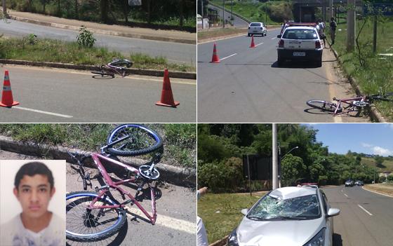 Adolescente morre em acidente de bicicleta em Araxá