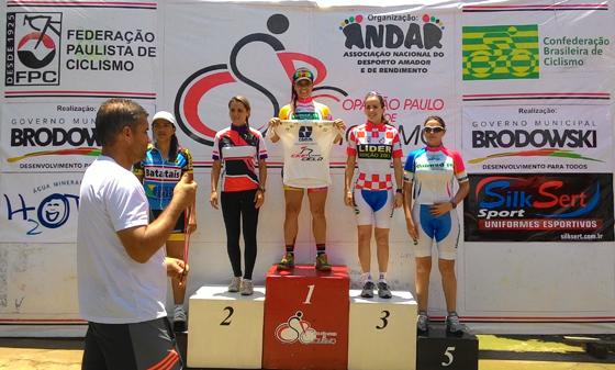 Araxaense é campeã da 10ª etapa da Copa São Paulo de Ciclismo