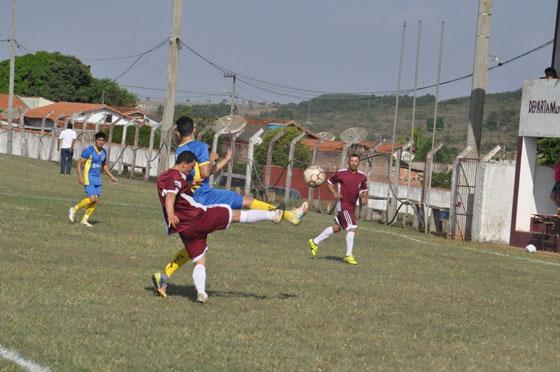 Seleção de Araxá perde o jogo de ida das semifinais da Copa Ampla