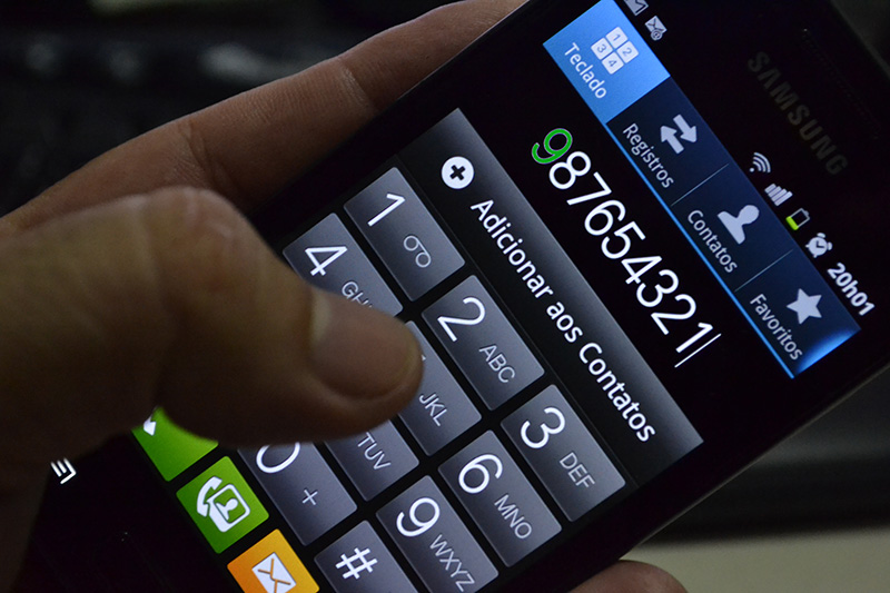 Nono dígito para celulares de Minas passa a valer no domingo (11)