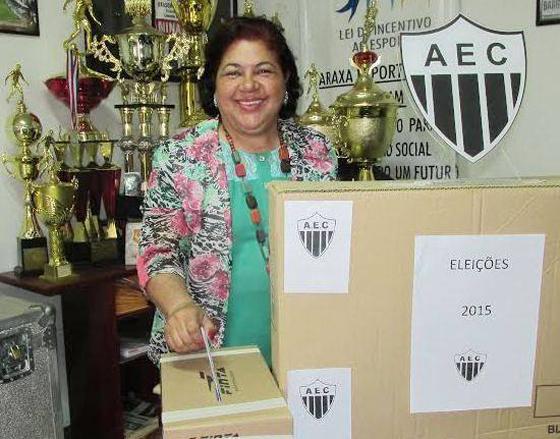 Luzia Doralice é eleita presidente do Araxá Esporte para o biênio 2015/2017