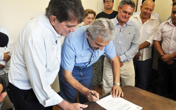 Prefeito Aracely anuncia construção da UPA e outras obras