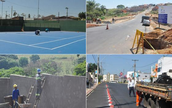 Administração Municipal realiza diversas obras pela cidade