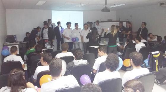 Alunos de Sistemas de Informação do Uniaraxá ficam em 3º lugar em competição regional