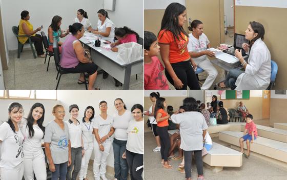 Uninorte é a primeira unidade de saúde a receber atividades do Outubro Rosa