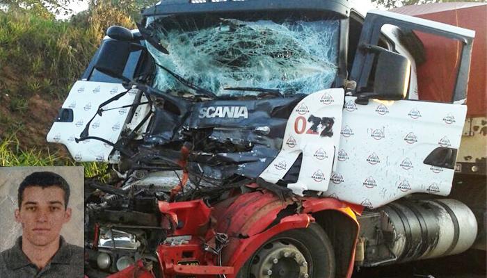Motorista morre em acidente na BR-452