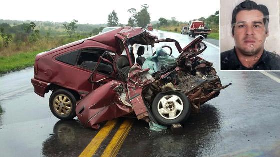 Homem de 33 anos morre em acidente na BR-262