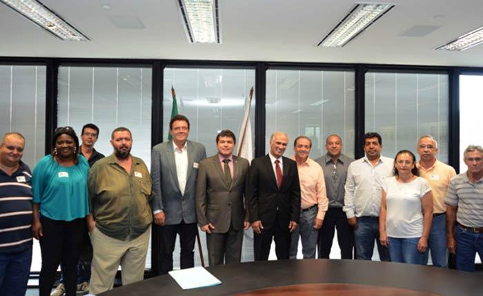 Comitiva de Araxá vai a Belo Horizonte reivindicar Superintendência de Meio Ambiente