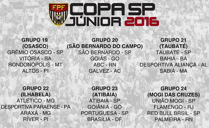 Gansinho está no grupo do Galo na Copa São Paulo de Futebol Júnior