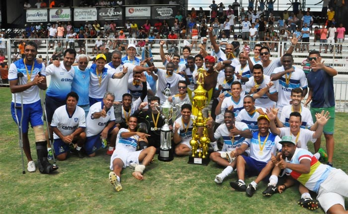 Com gols de Igão, Dínamo vence e é campeão do Amadorão