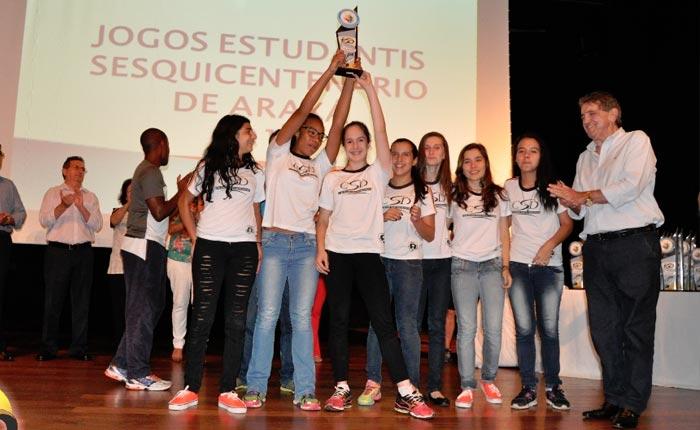 Jogos Estudantis encerra e registra participação de 2 mil alunos