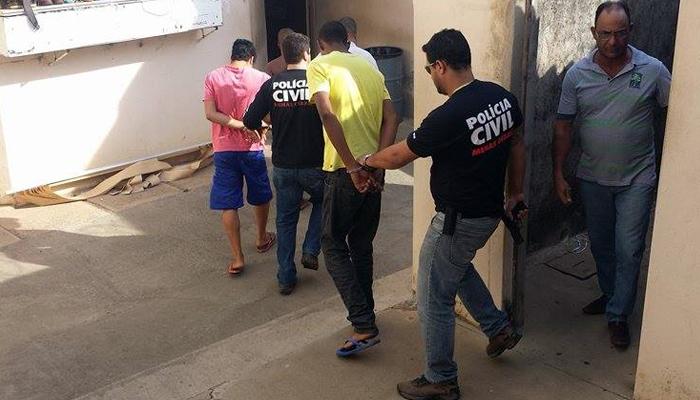 Operação das polícias Civil e Militar prende suspeitos de associação criminosa