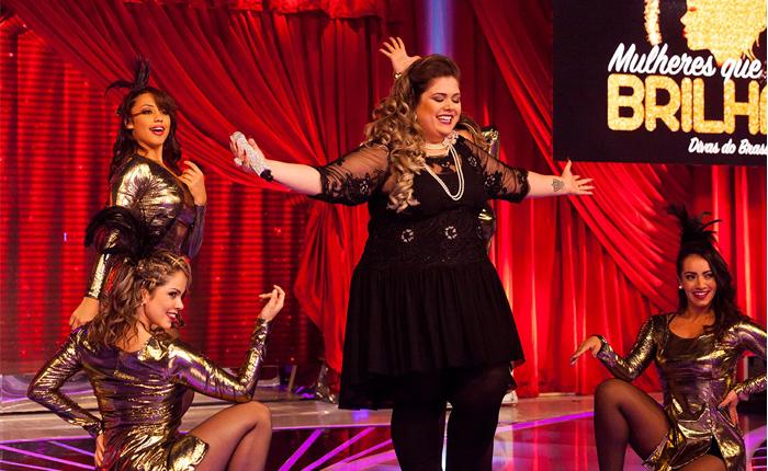"""Ludy Rocha vence """"Mulheres que Brilham"""" e vai cantar com Ivete no Raul Gil"""